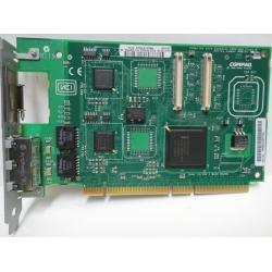 161105-001 Compaq NC3134 Fast Ethernet NIC 64 PCI Dual Port 10/100